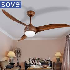 Dining Room Ceiling Fans With Lights 52 Inch Led Brown Dc 30w Ceiling Fans With Lights