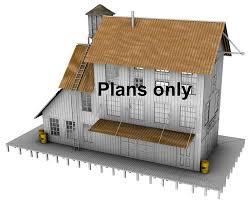 build house plans free ho scale building plans free printable n scale buildings free ho