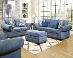 Living Room Blue Sofa Blue Sofa Loveseat American Freight