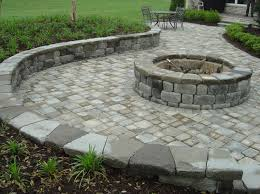 Patio Fire Pit Designs Ideas Patio With Pavers Ideas Paver Patio With Fire Pit Ideas Is A Part