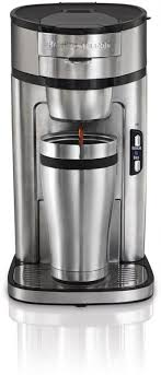 Hamilton Beach The Scoop 1 Cup Coffee Maker Stainless