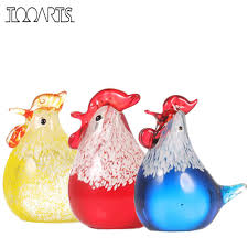 Chicken Home Decor by Art Glass Chicken Promotion Shop For Promotional Art Glass Chicken