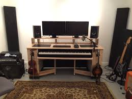 i built this diy audio mixing desk and drank lots of beer during