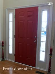 Red Front Doors Painted Front Doors Inside
