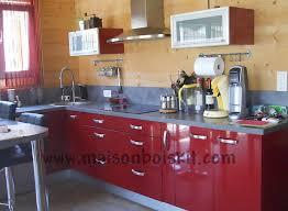 cuisine maison bois photos de chantier de maison en bois en kit
