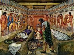 banchetti antica roma riti funerari romanoimpero