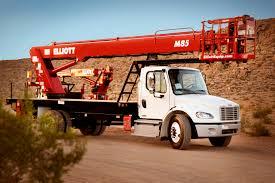 m85r hireach telescopic bucket truck m85 elliott equipment company