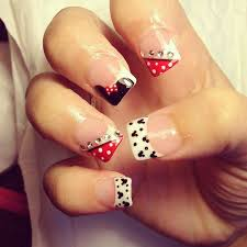 185 best mickey minnie nails images on pinterest disney nails