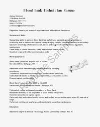 technology resume samples blood bank manager sample resume