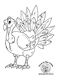 free thanksgiving dinner coloring pages printable copy