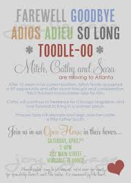 farewell party invitation trend invitation card of farewell party letter for fieldstation co