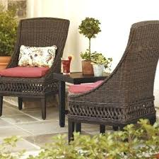 Outdoor Patio Dining Chairs Cool Outdoor Dining Chair Wicker Starlize Me