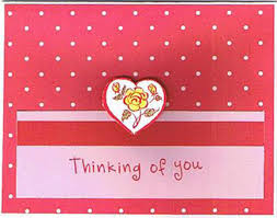 thinking of you cards handmade thinking of you cards by valerie smith