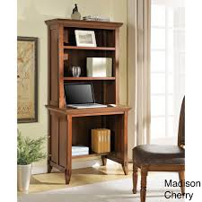 Compact Desk With Hutch Altra Amelia Desk With Hutch Bookcase 15061376 Overstock Desk And