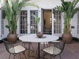 Tropical Potted Plants Outdoor - potting plants ideas patio contemporary with french doors wire