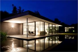 design and construction modern glass house floor plans modern