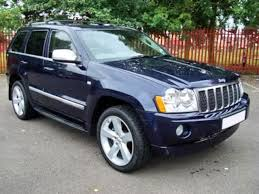 blue jeep grand cherokee view of jeep grand cherokee overland 5 7 v8 photos video