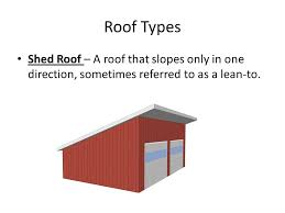 Barn Roof Angles Roof Types Components U0026 Terminology Ppt Video Online Download