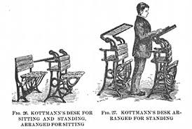 How Often Should You Stand Up From Your Desk Standing Desk Its Benefits And History The Art Of Manliness