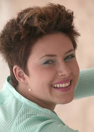 short haircuts eith tapered sides super short hairstyle for women pixie with short and tapered