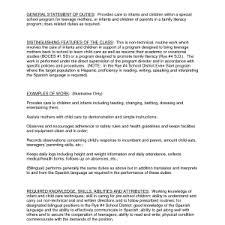 Child Care Resume Samples by Sample Cover Letter Child Care Teacher Preschool Teacher Cover