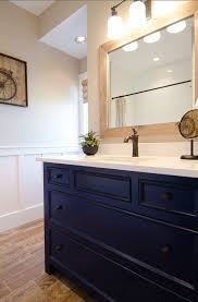 Navy Blue Bathroom Vanity 1000 Ideas About Blue Vanity On Pinterest Vanities Gold Faucet