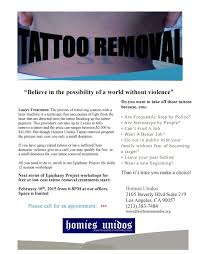 homies unidos tattoo removal