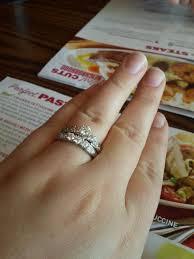 how to wear wedding ring set help ring help weddingbee
