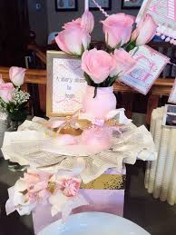 pink and gold baby shower with free printable the glitzy pear