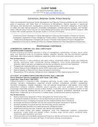 Facility Security Officer Resume