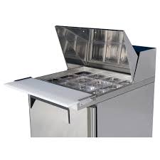 36 inch sandwich prep table turbo air 28 inch refrigerated food prep table with 12 1 6 size