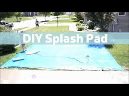diy splash pad youtube