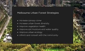melbourne urban forest visual