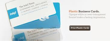 Plastic Business Card Printing Graphic Design Templates Logos Presentations And Printing Inkd