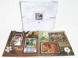 rustic wedding album country wedding scrapbook album rustic wedding country wedding