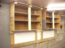 how to build plywood garage cabinets unfinished homemade wall plywood garage cabinet azelitehomes