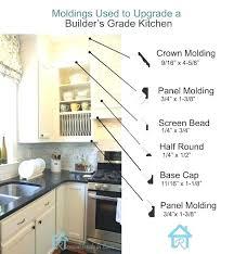 kitchen cabinet trim molding ideas wonderful kitchen cabinets molding ideas trim ideas best cabinet