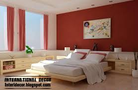 bedrooms latest bedroom color schemes red blood paint guest