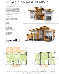 Mountain House Floor Plans by Purcell Timber Frames The Precrafted Home Company The Mountain