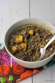 lentilles cuisine soupe aux lentilles avec épinards et courge kedny cuisine