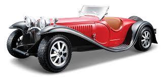 bugatti classic buy bburago 1 24 bugatti type 55 red online at low prices in