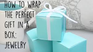 gift wrap box how to wrap a box present easy and simple jewelry gift wrap diy