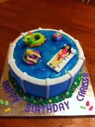 best 25 pool cake ideas on pinterest swimming pool cakes teddy