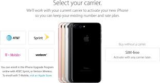apple store thanksgiving hours sim free iphone 7 and iphone 7 plus now available from apple