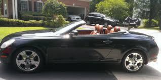 lexus run flat tires sc430 hard top convertible with low mileage navigation new run flat