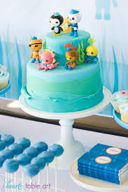 a boy u0027s octonauts inspired 3rd birthday party spaceships and