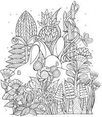 spring bunny coloring page favecrafts com