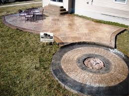 Stamped Concrete Patio Design Ideas by Average Cost Of Stamped Concrete Patio Home Design Ideas And