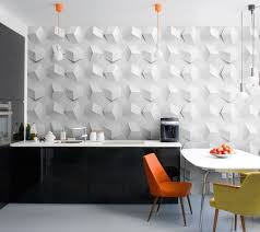 papier peint cuisine aménagement et décoration cuisine en 30 idées exquises