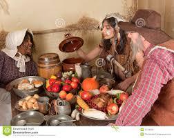 thanksgiving pilgrim dinner stock images image 15744004